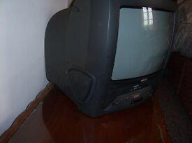 phillips 14inch combi tv