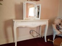 French Style Dressing Table/Console.Reduced!!