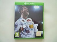 FIFA 18 GAME FOR THE XBOX ONE BRAND NEW BUT NOT SEALED EA SPORTS FOOTBALL MICROSOFT L@@K