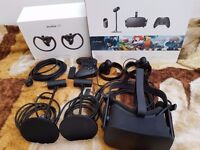 Oculus Rift CV1 , with touch controllers,perfect condition