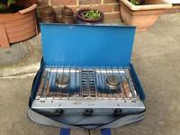 Gas cooker and gas bottle