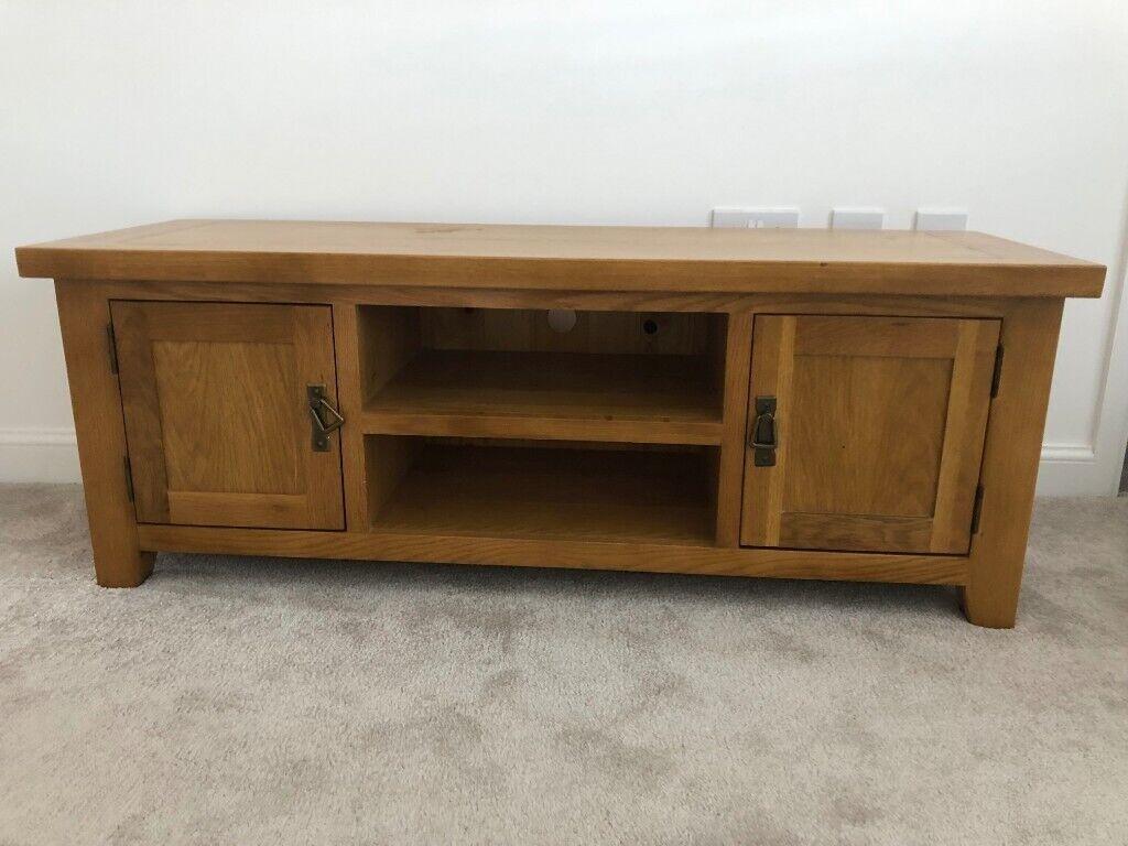 low priced 5bc99 6ba9c B&M Oak TV cabinet | in Neath, Neath Port Talbot | Gumtree
