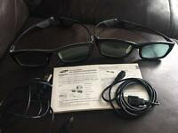 Samsung 3D Glasses (rechargeable)