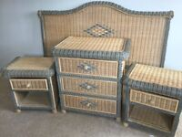 Bedroom Furniture wicker set imported from Australia