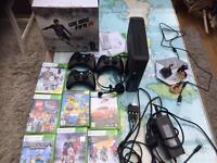 XBox 360 console and games including Disney Infinity! £65 Ono
