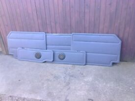 Mercedes Vito W638 Traveliner Rear Interior Vinyl Trim Panels