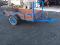 7.4f x 4.1f car trailer