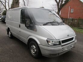 05 FORD TRANSIT T260 PANEL VAN SILVER MOT 10/2017 AIR CON 2 KEYS TOW BAR LOTS OF WORK DONE! PX SWAPS