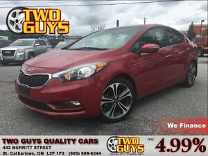 2015 Kia Forte 2.0L LOADED EX MODEL SUNROOF ALLOYS