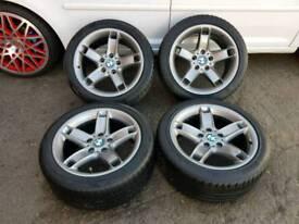"BMW 5 Series E39 17"" Alloy Wheels"