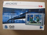 Archos AV 700 Tv Mobile TV & recorder - in box with all accesories - only used once