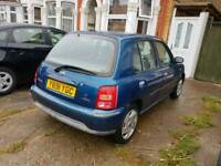 Automatic 1.0L Micra,87K Mile,New Mot/Susoension/Service,Hpi Clr £675 Only