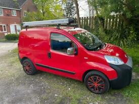 FIAT FIORINO 2013 PANEL VAN - RED - RUNS & DRIVES WELL - CHEAP - DRIVE AWAY !