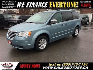 2010 Chrysler Town & Country Touring DVD LEATHER BACK UP CAMERA