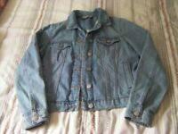 Ladies Denim Jacket Size 10