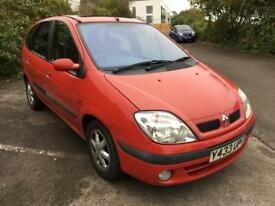 2001 1.6 Petrol Renault Scenic - long MOT - 2 Owners - Only 68k Miles