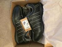 Steel toe cap work shoes size 8