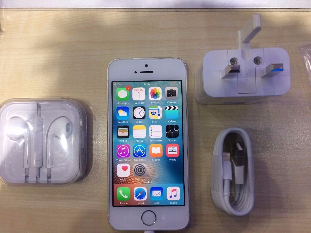 IPHONE 5S WHITE/ UNLOCKED32 GB/ VISIT MY SHOPGRADE AWARRANTYRECEIPTin Manor Park, LondonGumtree - IPHONE 5S SILVER, UNLOCKED and Grade A condition. This phone working perfectly and has the memory of 32 GB. The phone is like new and ready to use. COMES WITH WARRANTY VISIT MY SHOP. 556 ROMFORD ROAD E12 5AD METRO TECH LTD. (Right next to Wood grange...