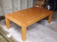 Large coffee table (122x70x41 cm) - £40 Please call 07742 656093 would need collecting.