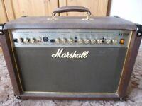 Acoustic Guitar 50 watt Amplifier by Marshall.
