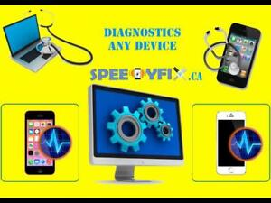 IPad iPhone and Samsung screen replacment within 30 min - 24h with 3 month warranty