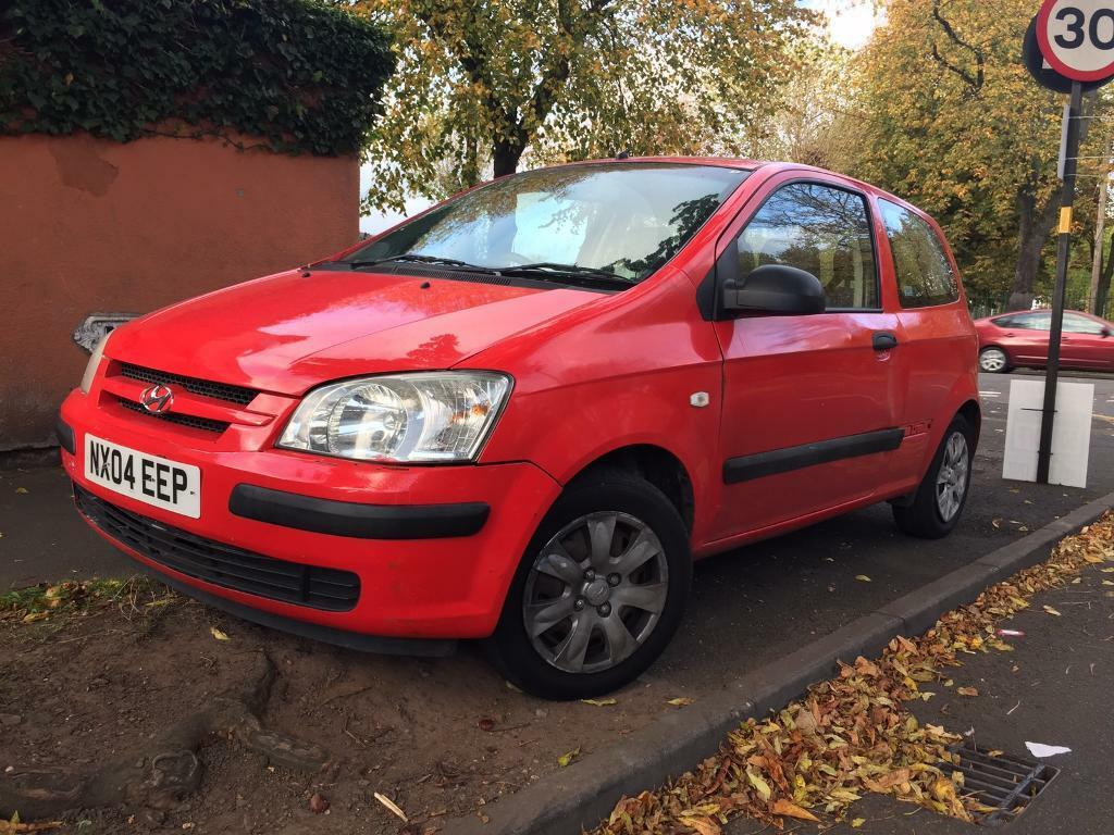 Hyundai Getz petrol manual breaking full car for parts 2004