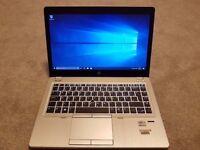 Hp Elitebook Folio 9470m Ultrabook laptop 8gb or 16gb ram with 180gb or 256gb SSD hard drive