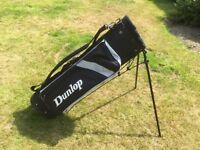 Used Dunlop Golf Bag (includes detachable trolley wheels)
