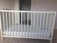 Ikea Cot & Mothercare mattress