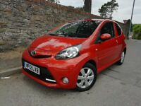 2012 12 Toyota Aygo 1.0 Fire 3 Door AC *Only 37000 Miles with Full Toyota Service History*