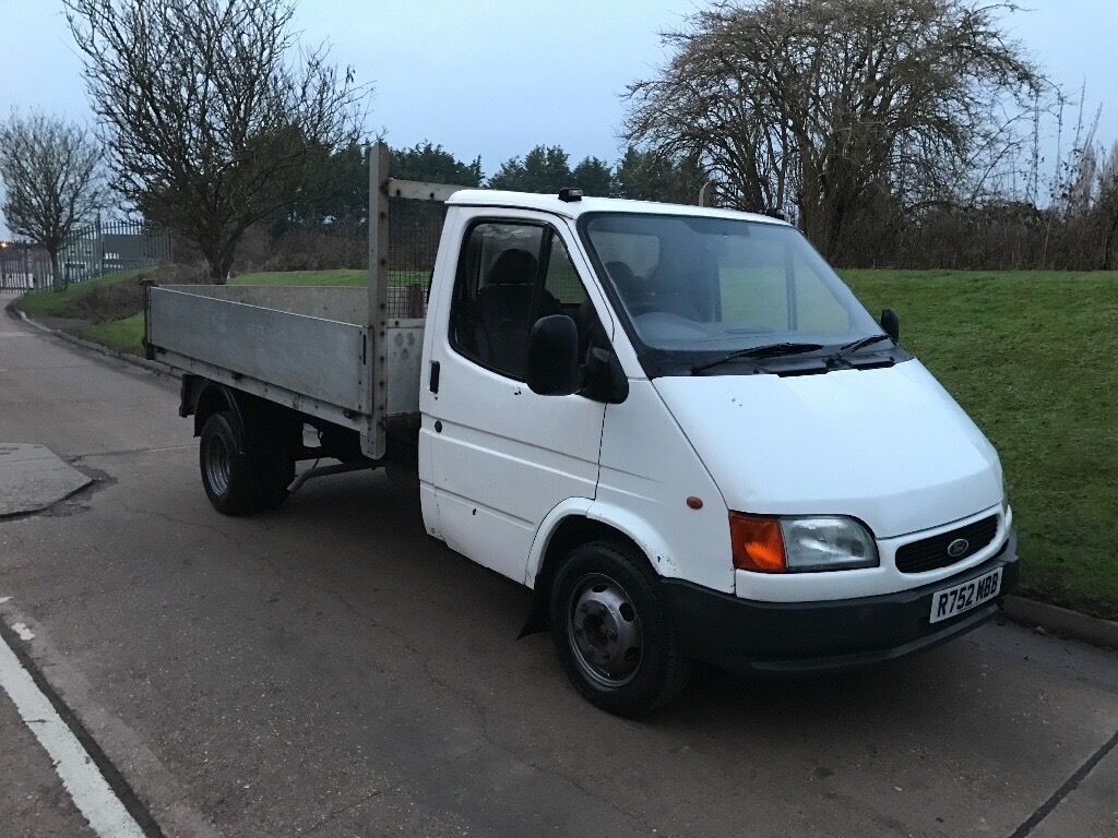 1998 Ford Transit Tipper Long Mot 2 5diesel Ready For