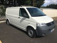 VW T5 T30 LWB 1.9 Diesel, AC. One Owner from new, 48000 miles, 08 reg. Service history. No VAT