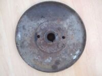 HAYTER HARRIER - CUTTING HUB - BLADE PLATE - CAN POST