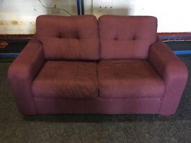 NEW / EX DISPLAY John Lewis 2 Seater Plum Sofa
