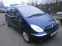 2007 CITROEN XSARA PICASSO 1.6 HDI, DIESEL, 5DOOR, FULL SERVICE HISTORY, DRIVES LIKE NEW,LOW MILES