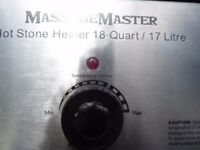 Massage Master Hot Stone Heater with Stone re advertised due to a nigerian con