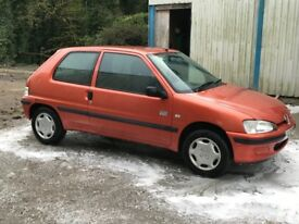 Peugeot 106 excellent condition cheap car