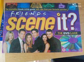 Friends Scene it? dvd game