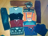 Boys deluxe clothing bundle age 3-5 yrs