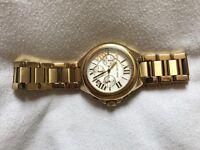 Men's Gold Michael Kors Watch
