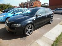 not breaking not spare or repair no damaged audi a3 2.0fsi 2004 S-line R18 wheels leather interior