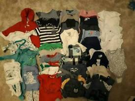 Large baby boy clothes bundle