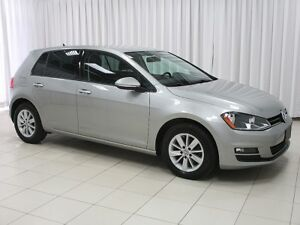 2015 Volkswagen Golf TDI Diesel! VW CERTIFIED! 6-Speed! Bluetoot