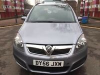 Car For sale Vauxhall zafira 2007 petrol 2.2 automatic mot 20/03/2018 miles 98000 7 seater £1275
