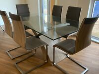 Evolution Range Dining Table & 6 Chairs
