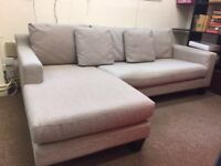 Dwell corner sofa, 3-seater, FREE local delivery!!!