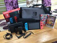 Nintendo Switch Console bundle - 32gb