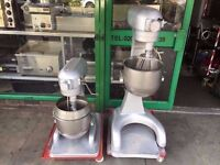 COMMERCIAL 20 LT/LITRE HOBART DOUGH MIXER USED IN CATERING RESTAURANT PUB BAKERY PATISSERIE PIZZA