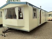 SPACIOUS 8 BERTH ATLAS HOLIDAY HOME FOR SALE ESSEX - FEES & CONNECTIONS INCLUDED