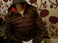 moncler mens jacket grey new bargain in xl